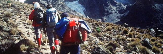 Rwenzori mountain hiking tour