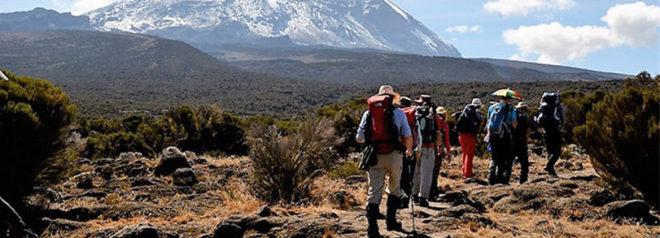 6 days kilimanjaro climbing via machame route