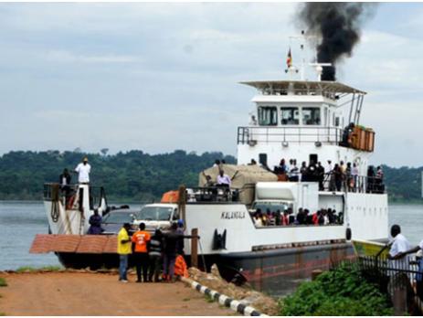 MV Kalangala ferry services